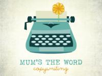 Mum's the Word Logo