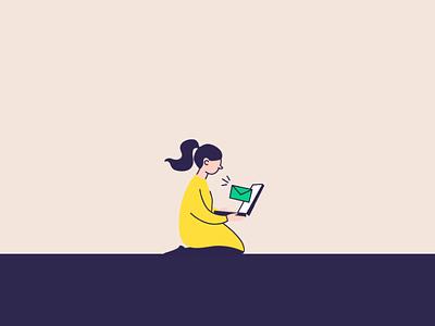 E-mail illustration