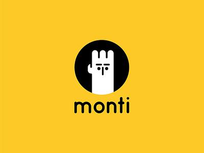 Monti. Personal logo. branding isotype identity illustration design logotype logo