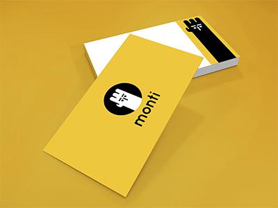 Monti. Self Branding designer logo design branding identity brand card business