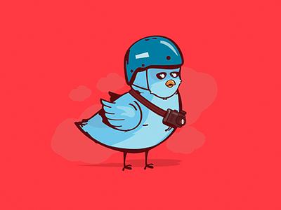 Venezuela media social war peace rights politics animals bird twitter illustration