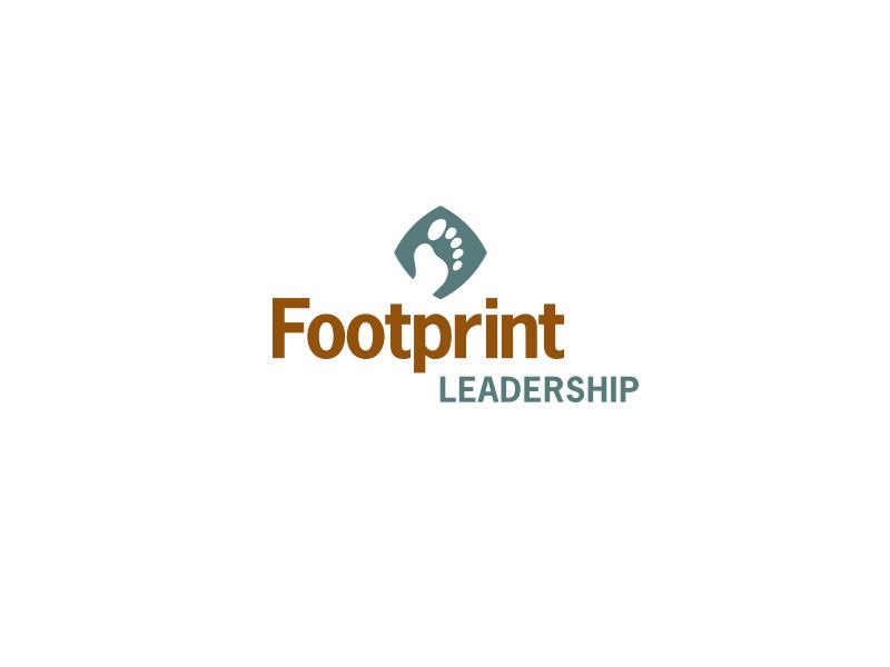 Footprint Leadership Logo design vector logo logos branding