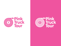 Pink Truck Tour Logo Concept