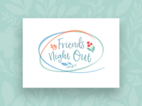 Friends Night Out Event Graphic