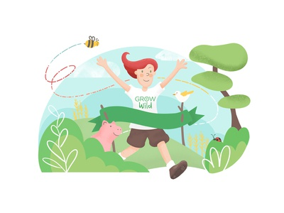 Grow Wild Promotional Illustration - No.2