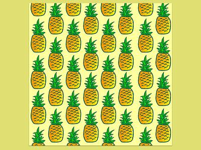 Pineapple illustration pattern illustrator patterns pattern pattern design pattern art illustration art pineapple illustration digital illustration design creative  design illustration creartmood manipulation photomanipulation digitalart design imagine creativeart photoshop