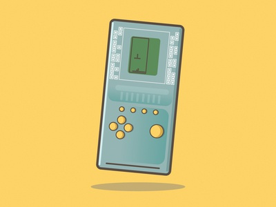Childhood Retro Classic Tetris