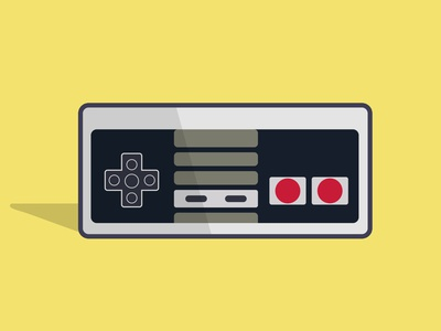 Classic Controller 80s 90s nintendo videogames vectorart vector atari playstation games creartmood logo photoshop design digitalart illustration