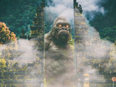 king kong is back hope freedome photoediting creative  design thehub-edit imagine digitalart design retouch photoshopartwork photoshop photomanipulation manipulation creativeart creartmood