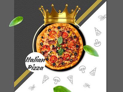 Italian Pizza poster pizza menu pizza hut advert advertisement designworks socialmedia italian food italian pizza creative  design hope manipulation creartmood photomanipulation digitalart design photoshop imagine creativeart