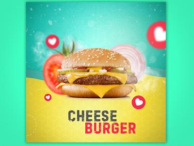 Cheese Burger design art social network advertise advert burger socialmedia freedome photoshop imagine design creativeart creartmood digitalart logo illustration manipulation