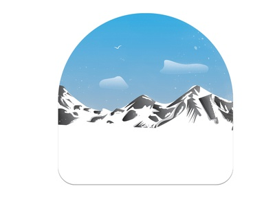 Snowing Mountains