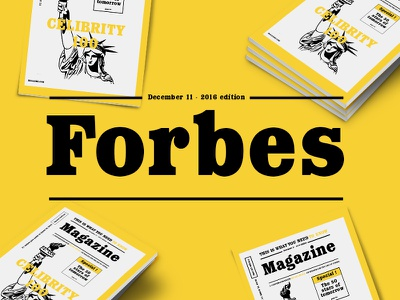 Forbes - typeface contemporary bauhaus modern spring forbes neue magazine typeface font