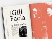 Gill Facia - Typeface by Colin Banks