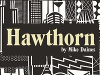 Hawthorn - a typeface by Mike Daines
