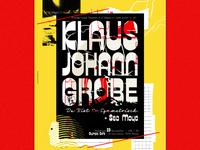Gig Poster for Klaus Johann Grobe