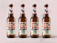 Lollepot - Brasserie des Biches - Packaging