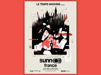 Sunn O ))) gig poster