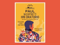 Paul McCartney Liverpool Oratorio - Poster
