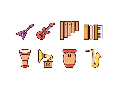 Instrumental Icons