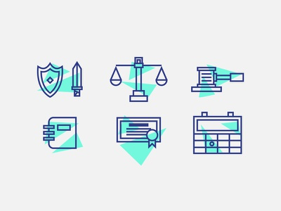 Law Icons icons icon service legal business justice office law