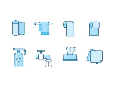 Wash & Wipe hygiene tissue towel cleaner wash soap sanitizer hand napkin paper toilet wipe