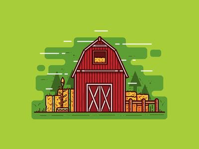 Barn ranch yard agriculture farming wooden house farm barn