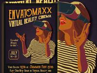 Vintage Virtual Reality Flyer