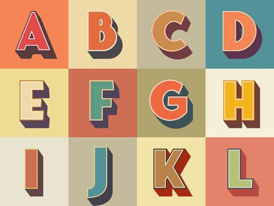 3d Font designs, themes, templates and downloadable graphic