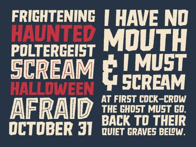 Scary Font Freich Monsta poster crime font vintage font vintage horror retro horror font horror typography spooky font halloween font scary font halloween font download vintage