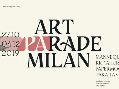Restora Serif - with 2 Free Fonts font typography poster roman font retro font vintage font free fonts classic