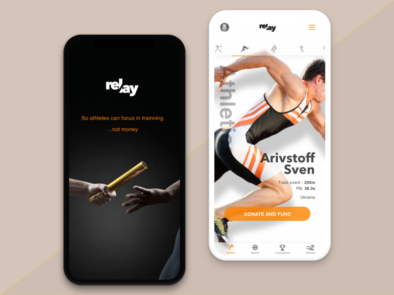re lay by Hector Astete on Dribbble