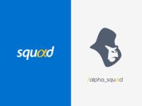 Alpha Squad - Logotype