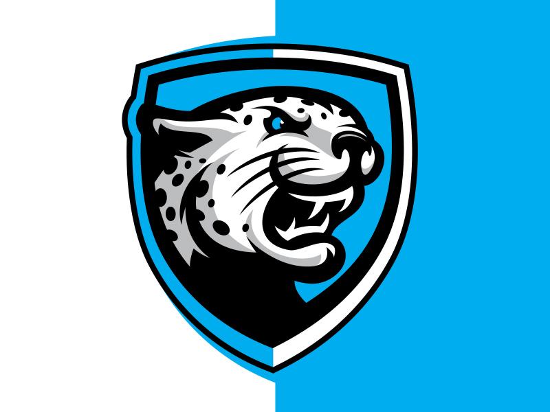 "Ice hockey club ""Barys"" leopard esportlogo cat panther mascot sport ice hockey sportlogo sportbranding"