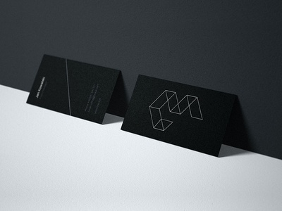 Braus | business cards business card typography corporate identity