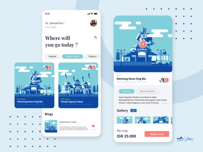 City Tour Of Tuban App 2 By Juna Nobi On Dribbble