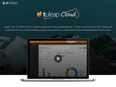 Tuleap Cloud alm tuleap landing page moutain price table saas