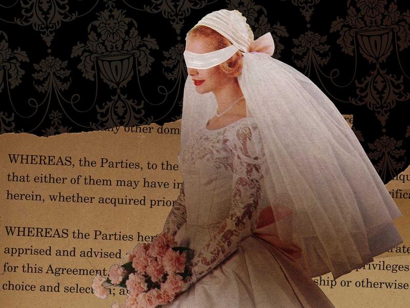 Blind Faith wedding dress blindfold winery wine label wine vintage photo okthx illustration collage