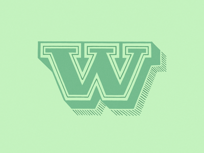 36 days of type - W