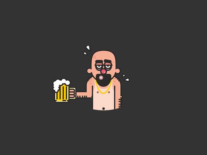 friday mood. vectorart vector illustrator illustration dribbble design character