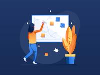 Work & Office Illustrations