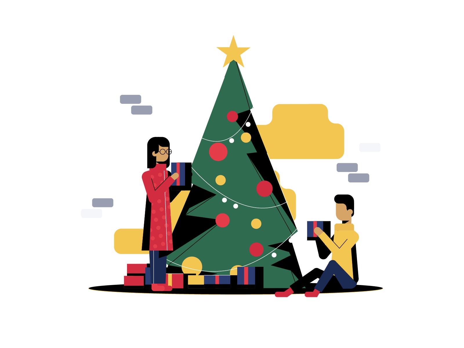 Christmas Illustrations Png.Dribbble Christmas Dribbble White 2 01 Png By Gytis Jonaitis