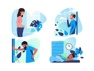 Camp illustrations