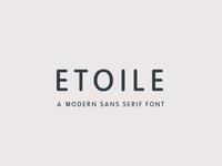 Etoile - Sans Serif Font