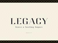 Legacy - High Class Serif
