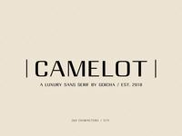 Camelot - Luxury Sans Serif