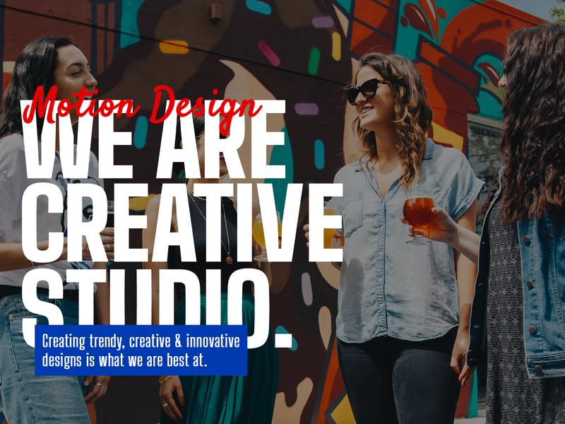 We Are Creative 2020 trends trendy creativity animated bundle motion design dribbble dribbble best shot adobe creative studio creative branding website design logo ui title typography motion animation pixflow