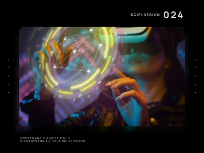 Sci-fi Hud interface aftereffects after effects ae motion digital future motion graphic fui hitech motion design user interface sci-fi hud hologram cyberpunk data vr augmented reality arvr 3d