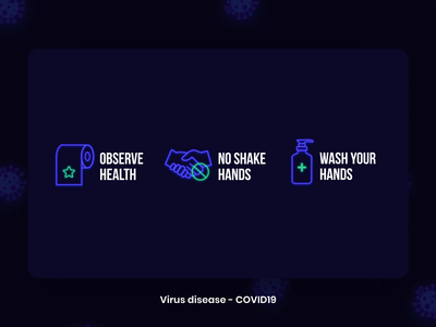 Coronavirus covid19 covid covid 19 corona virus animation inspiration template aftereffects motion icon set vaccine animated icons spread medical assets