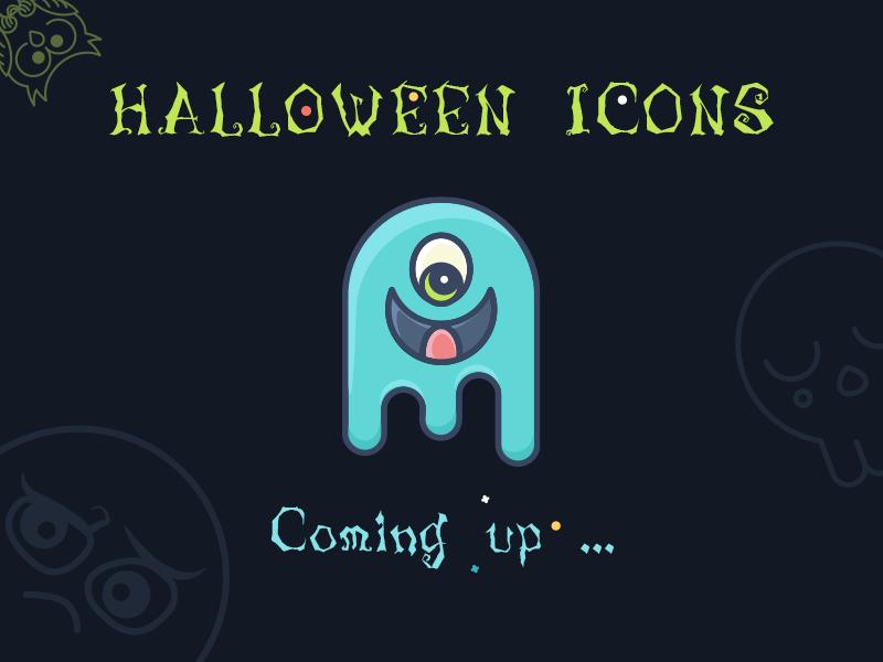 Cute Halloween Icons Set holiday halloween icon halloween